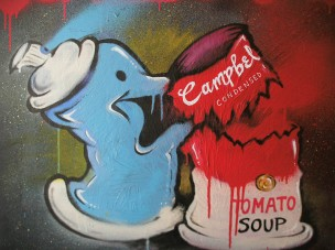 Spray vs Soup