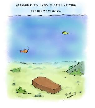 bin laden cartoon 72 virgins atheist