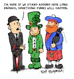 cartoon english irish scottish